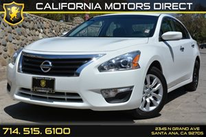 2015 Nissan Altima 25 S Carfax Report - No AccidentsDamage Reported Analog Display Audio  Aux