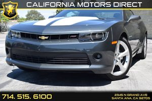 2015 Chevrolet Camaro LT Carfax 1-Owner - No AccidentsDamage Reported  Ashen Gray Metallic Se