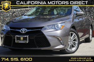 2015 Toyota Camry SE Carfax Report Audio  Auxiliary Audio Input Clearcoat Paint Convenience