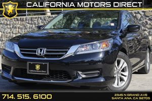2014 Honda Accord Sedan LX Carfax Report - No AccidentsDamage Reported Analog Display Audio  A
