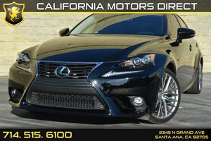 2015 Lexus IS 250  Carfax Report - No AccidentsDamage Reported Audio  Auxiliary Audio Input Au