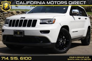 2014 Jeep Grand Cherokee Summit Carfax Report - No AccidentsDamage Reported Audio  Auxiliary Au