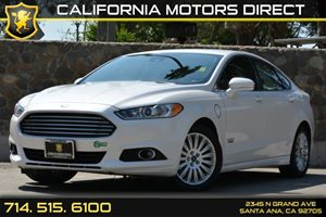 2013 Ford Fusion Energi SE Luxury Carfax Report - No AccidentsDamage Reported Audio  Auxiliary