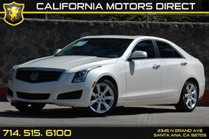2013 Cadillac ATS  Carfax Report Audio  Auxiliary Audio Input Convenience  Engine Immobilizer
