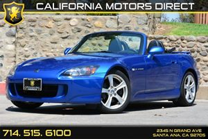 2008 Honda S2000  Carfax Report - No AccidentsDamage Reported Convenience  Cruise Control Conv