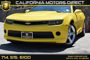 2015 Chevrolet Camaro LT Carfax Report - No AccidentsDamage Reported Convenience  Back-Up Camer