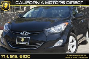 2013 Hyundai Elantra Limited Carfax Report - No AccidentsDamage Reported Convenience  Leather S