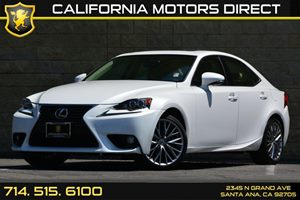 2014 Lexus IS 250  Carfax 1-Owner  Ultra White See our entire inventory at wwwOCMOTORSDIRECT1