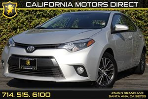 2016 Toyota Corolla LE Plus Carfax Report - No AccidentsDamage Reported Audio  Auxiliary Audio