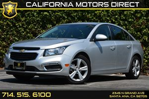 2015 Chevrolet Cruze LT Carfax Report Air Conditioning  AC Audio  Wifi Hotspot Compass Displ