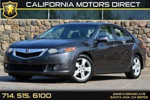 2009 Acura TSX  Carfax 1-Owner Audio  Auxiliary Audio Input Convenience  Cruise Control Conve