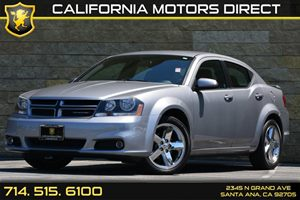 2013 Dodge Avenger SXT Carfax Report Audio  Auxiliary Audio Input Convenience  Engine Immobili