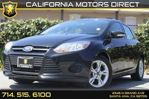 2014 Ford Focus SE Carfax 1-Owner Audio  Auxiliary Audio Input Convenience  Cruise Control Da