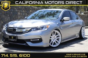 2016 Honda Accord Sedan Sport Carfax Report - No AccidentsDamage Reported Air Conditioning  AC