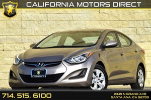 2016 Hyundai Elantra SE Carfax 1-Owner Audio  Auxiliary Audio Input Clearcoat Paint Convenienc