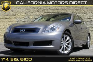 2009 Infiniti G37 Sedan Journey Carfax Report - No AccidentsDamage Reported Air Conditioning  A