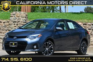 2014 Toyota Corolla S Carfax Report - No AccidentsDamage Reported Air Conditioning  AC Analog