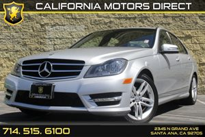 2014 MERCEDES C250 Luxury Sedan Carfax 1-Owner - No AccidentsDamage Reported Air Conditioning