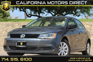 2013 Volkswagen Jetta Sedan S Carfax 1-Owner - No AccidentsDamage Reported Audio  Auxiliary Aud