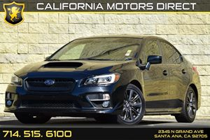 2015 Subaru WRX Limited Carfax Report - No AccidentsDamage Reported Clearcoat Paint Convenience