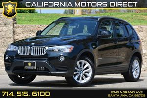 2015 BMW X3 sDrive28i Carfax 1-Owner Air Conditioning  AC Audio  Auxiliary Audio Input Chrom