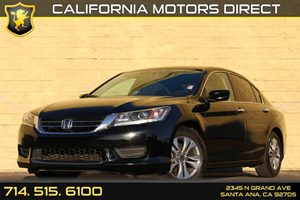 2014 Honda Accord Sedan LX Carfax Report Analog Display Audio  Auxiliary Audio Input Convenien