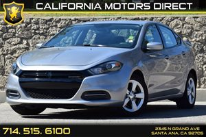 2015 Dodge Dart SXT Carfax Report - No AccidentsDamage Reported Air Filtration Analog Display