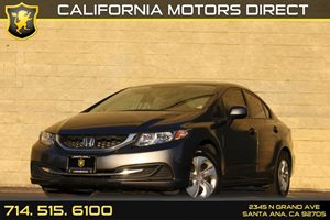 2013 Honda Civic Sdn LX Carfax Report Audio  Auxiliary Audio Input Convenience  Back-Up Camera