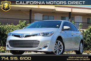 2014 Toyota Avalon XLE Carfax Report - No AccidentsDamage Reported Air Conditioning  AC Audio