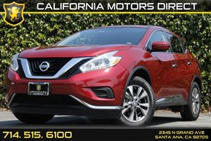 2016 Nissan Murano S Carfax 1-Owner Air Conditioning  Multi-Zone AC Audio  Auxiliary Audio In