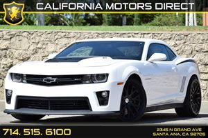 2013 Chevrolet Camaro ZL1 Carfax 1-Owner Audio  Auxiliary Audio Input Convenience  Back-Up Cam