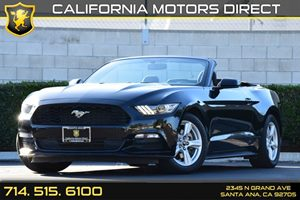 2015 Ford Mustang V6 Carfax 1-Owner - No AccidentsDamage Reported Analog Display Clearcoat Pain