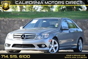 2010 MERCEDES C-Class Luxury Sedan Carfax Report - No AccidentsDamage Reported Audio  Auxiliary