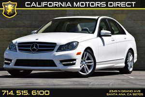 2014 MERCEDES C-Class Luxury Sedan Carfax Report - No AccidentsDamage Reported Audio  Auxiliary