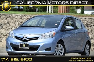 2014 Toyota Yaris L Carfax Report Audio  Auxiliary Audio Input Clearcoat Paint Day-Night Rearv