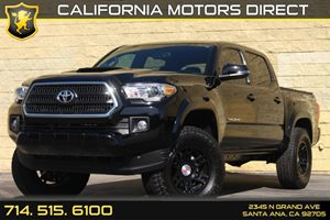2016 Toyota Tacoma TRD Sport Carfax 1-Owner - No AccidentsDamage Reported Analog Display Audio