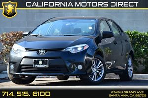 2014 Toyota Corolla LE Carfax 1-Owner - No AccidentsDamage Reported Audio  Auxiliary Audio Inpu