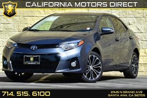 2014 Toyota Corolla S Carfax Report - No AccidentsDamage Reported Audio  Auxiliary Audio Input