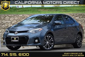 2014 Toyota Corolla S Plus Carfax Report - No AccidentsDamage Reported Audio  Auxiliary Audio I