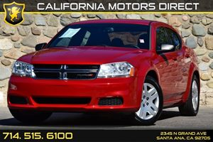 2014 Dodge Avenger SE Carfax 1-Owner - No AccidentsDamage Reported Audio  Auxiliary Audio Input