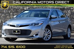 2015 Toyota Avalon XLE Carfax Report - No AccidentsDamage Reported Audio  Auxiliary Audio Input