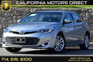 2015 Toyota Avalon XLE Carfax 1-Owner - No AccidentsDamage Reported Audio  Auxiliary Audio Inpu