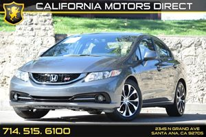 2013 Honda Civic Sdn Si Carfax 1-Owner - No AccidentsDamage Reported Audio  Premium Sound Syste