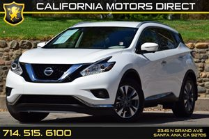 2015 Nissan Murano SL Carfax 1-Owner Clearcoat Paint Convenience  Keyless Start Convenience