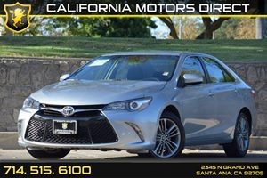 2015 Toyota Camry SE Carfax 1-Owner Audio  Auxiliary Audio Input Clearcoat Paint Convenience