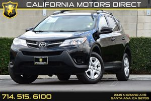 2013 Toyota RAV4 LE Carfax 1-Owner Air Conditioning  AC Audio  Auxiliary Audio Input Conveni