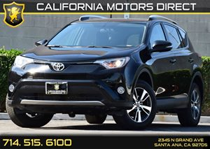 2016 Toyota RAV4 XLE Carfax 1-Owner - No AccidentsDamage Reported Audio  Auxiliary Audio Input