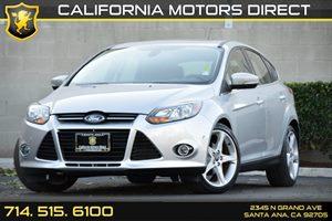 2012 Ford Focus Titanium Carfax Report - No AccidentsDamage Reported Audio  Auxiliary Audio Inp