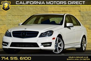 2014 MERCEDES C-Class Luxury Sedan Carfax 1-Owner - No AccidentsDamage Reported Air Conditioning