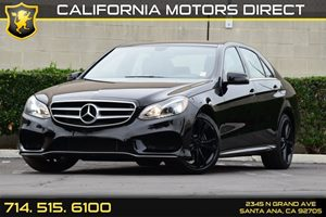2014 MERCEDES E350 Luxury Sedan Carfax 1-Owner Air Conditioning  AC Audio  Auxiliary Audio In